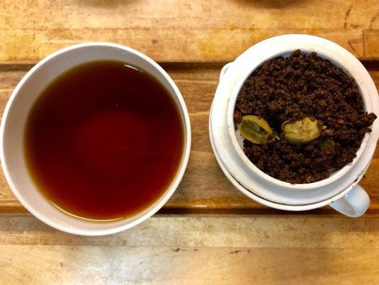 Masala 茶葉可以只用熱水沖泡