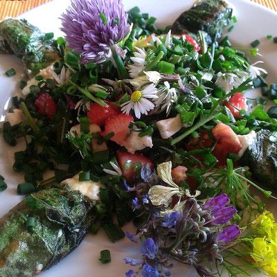 Wildkräutersalat
