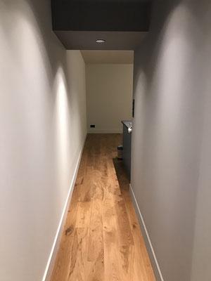 Couloir peinture mat