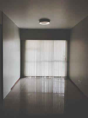 Pose de rideaux