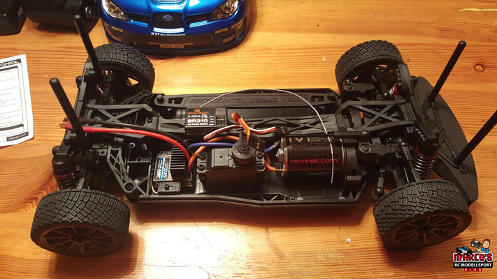 MST-XXX Rally Elektronik, Servo, Motor, Regler, Empfänger, Fernsteuerung