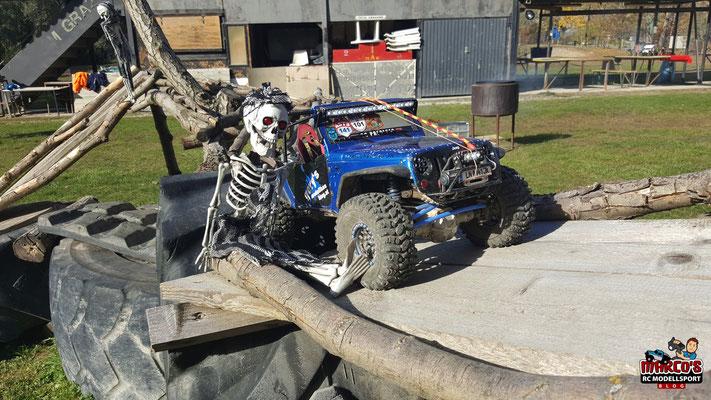 Süßes oder Saures - Halloween Crawlen 2016, RC-Trial Adventure Park