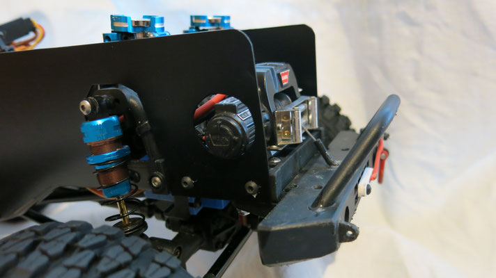 Sicht- und Spritzschutz für den MST CFX-W