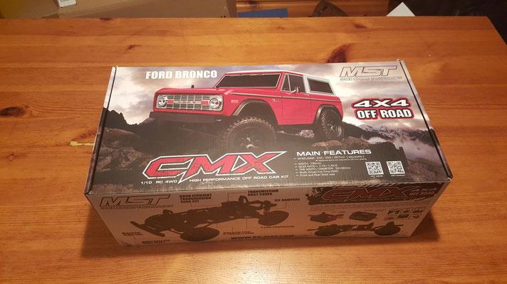 MST CMX Ford Bronco Schachtel #1