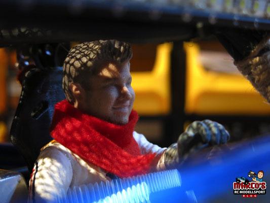 3D ConceptArt, Fahrerfigur, 3D-Druck