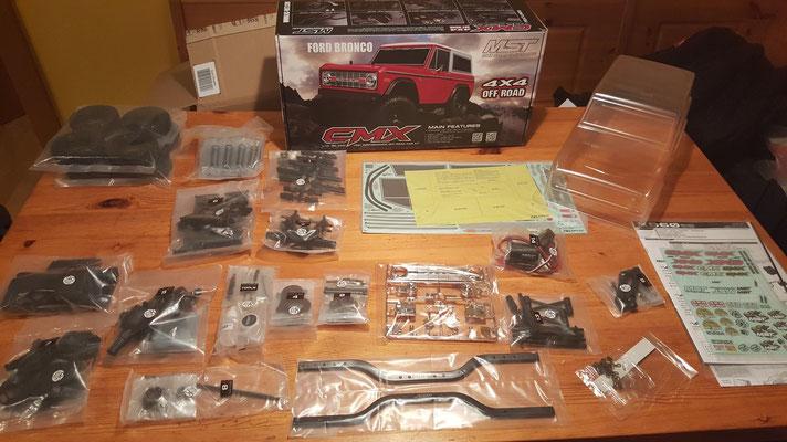 MST CMX Ford Bronco Teileübersicht