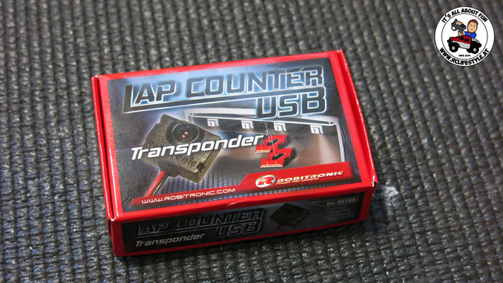 Robitronic Lap Counter, RS163 Transponder