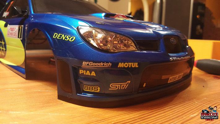 MST-XXX Rally Karosserie, Subaru Impereza WRC Monte Carlo '07