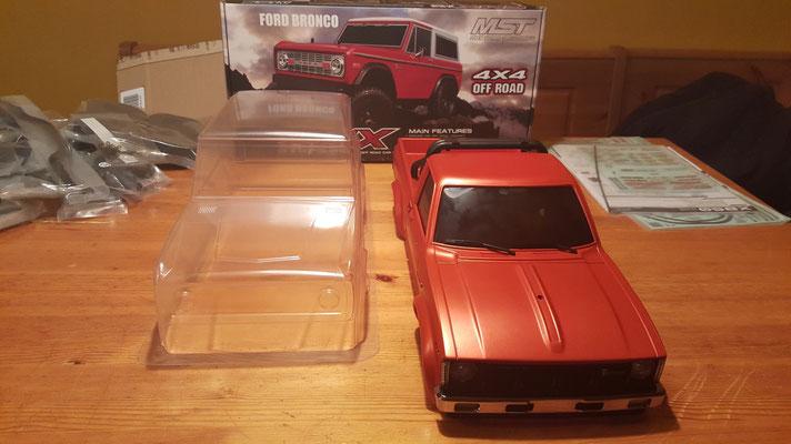 MST CMX Ford Bronco Größenvergleich #3