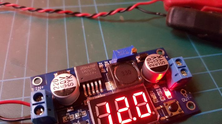 Spannungswandler-DROK® LM2577 Boost-Wandler >> mit Potentiometer Ausgangsspannung einstellen