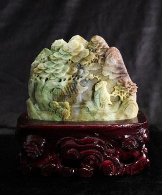 Dushan de Jade 100% natural   (獨山玉)