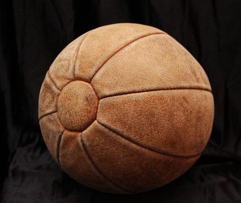 Balón medicinal de cuero (50s) Leather medicinal ball