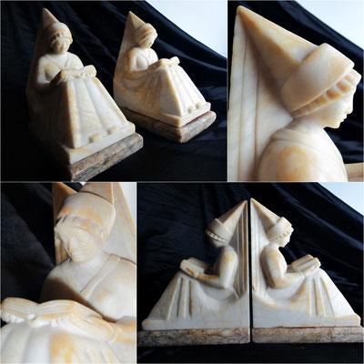 Sujetalibros mármol  Reading Ladies (Art Decó)