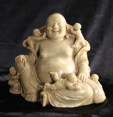 Dushan Budha stone carved - Buda piedra tallada (佛像石刻)