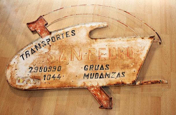 Cartel Metal (Pieza única) Super decorativo (Antiguo / Vintage)