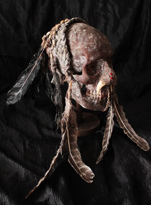 Cráneo Asmat (R) Asmat Skull