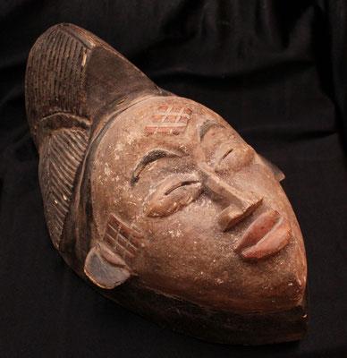 Antigua máscara Tribal / Espiritual Okuyi - PUNU (Gabon) Ancient Tribal Mask - Spiritual