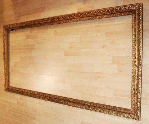 Antiguo marco madera dorada (162´5cm) Old golden wood frame