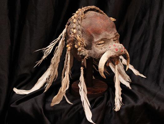 Spectacular Asmat skull (R) Cráneo