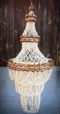 Lámpara de conchas (Vintage) Shell lamp