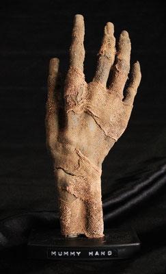 Egyptian mummy hand / Mano de momia egipcia