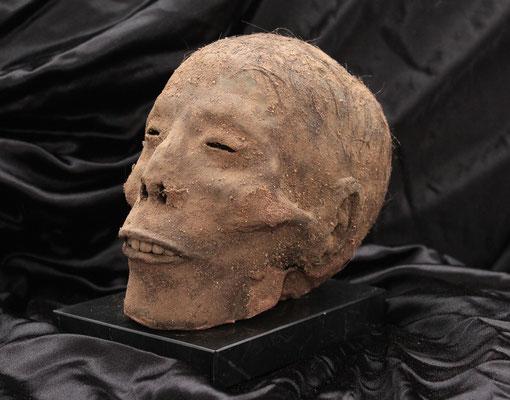 Mummy, mummified, Egypt, Museum, head / Momia, momificado, Egipto, cabeza. (oddities)-(Réplica)