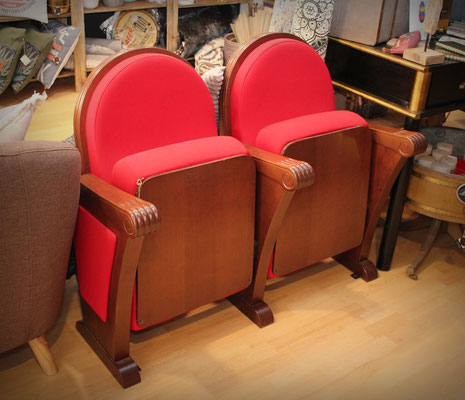 Butacas cine / teatro (Grand Piano) Cinema / theater seats (John Cusack - Elijah Wood)