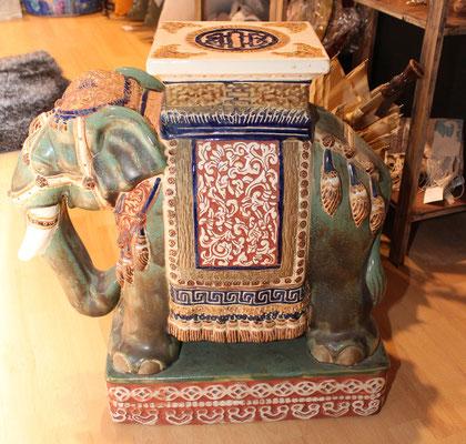 Enorme elefante vintage de cerámica / Huge vintage ceramic elephant