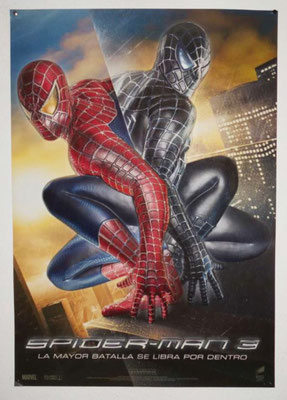 Poster Spider-man 3 Tridimensional