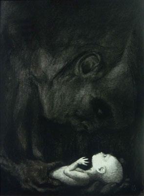 l'enfant et la mort- le regard