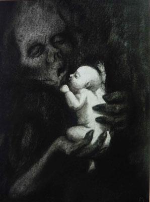 l'enfant et la mort- le câlin
