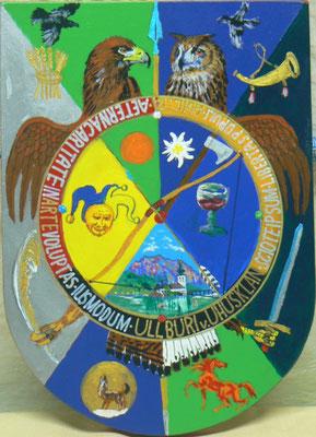 H Rt ULLBURI hat nun sein Wappen gefechst
