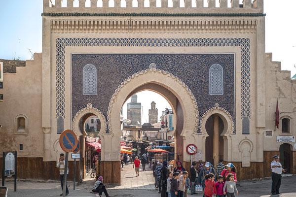 Das Blaue Tor von Fès.
