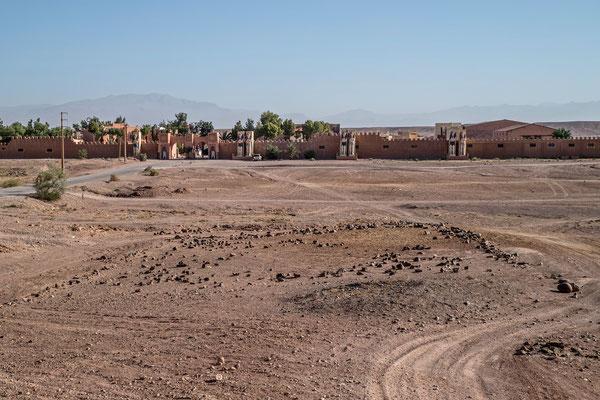 Die Atlas-Filmstudios bei Ouarzazate.
