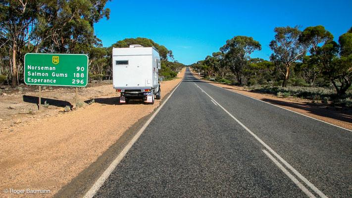 Nahe Eyre Highway, Western Australia