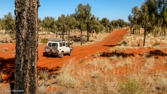 Anfahrt zum Watarrka National Park, Northern Territory