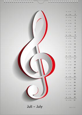 The Music Calendar ... a Cool Music Gift.