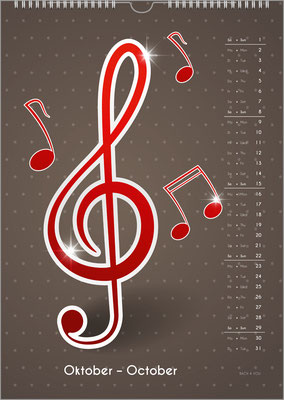 The Music Calendar ... a Cool Music Gift.