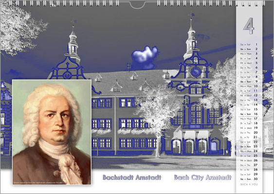 Bach Wall Calendars Are Great Music Gifts.