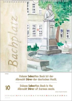 The Bach Calendar ... a Cool Music Gift.