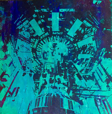 Atlas-11-V2 tecnica mixta sobre tela 100X100
