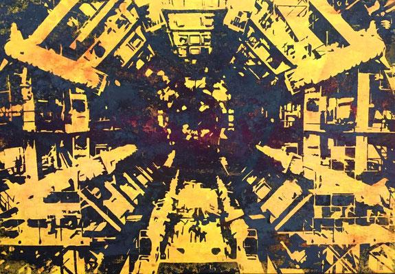 Atlas-07-V2 tecnica mixta sobre tela 103X83