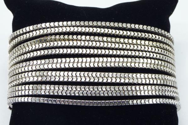 bracelet metallique femme en acier inox