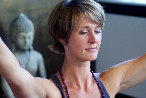 Zertifizierte Yoga Lehrerin Claudia Martin