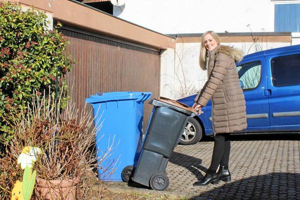 Hausservice Mülltonnen leeren
