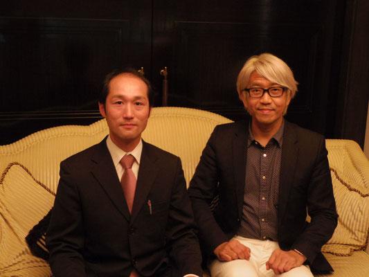 青山龍マスターコーチとと苫米地式コーチング認定コーチ 坂本裕史