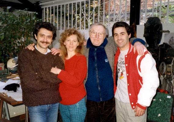 With Paul Grimault and Kristof Serrand