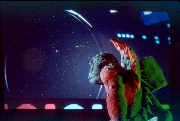 Galaxie Kong space ship