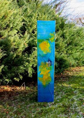 Kubus Trauben, 1 m hoch, 20 cm tief, verkauft