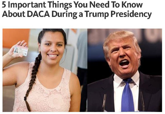 5 Important Things You Need To Know About DACA During a Trump Presidency